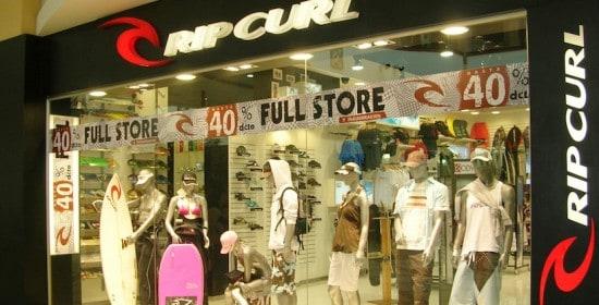 construccion de espacios comerciales rip curl