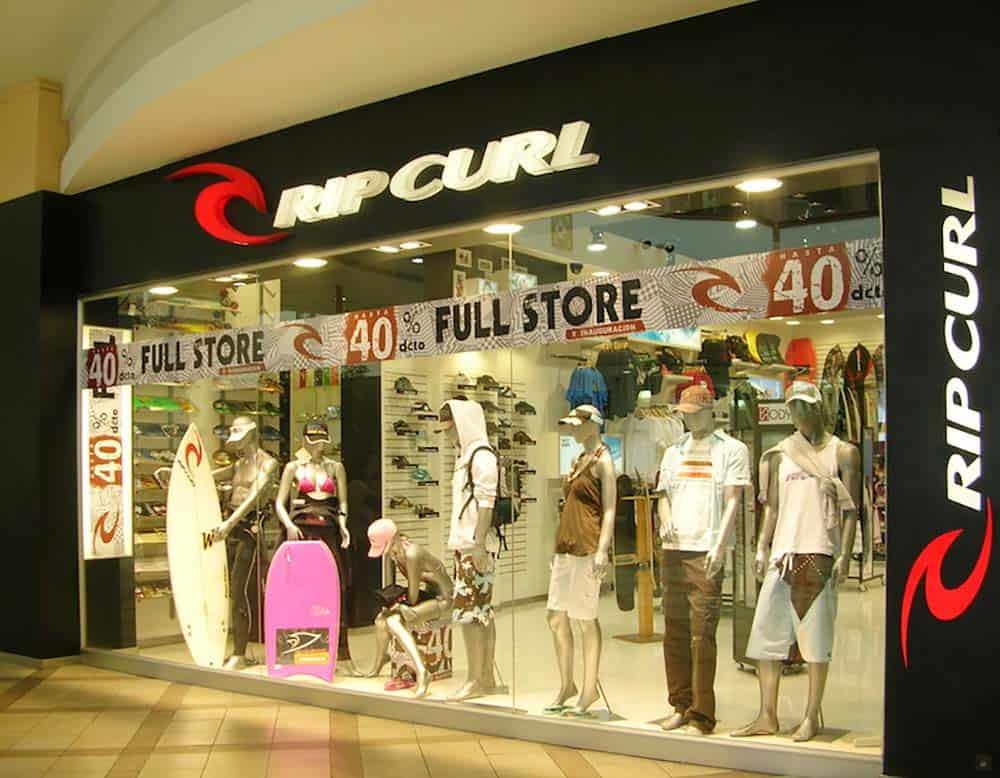 Construccion de Espacios Comerciales-RipCurl Mall Plaza La Serena