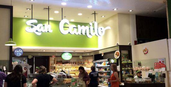 Construccion de Panaderia San Camilo Mall Plaza Los Dominicos